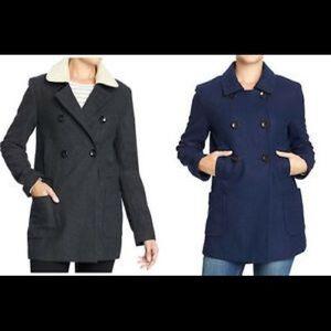 [Old Navy] Wool blend coat